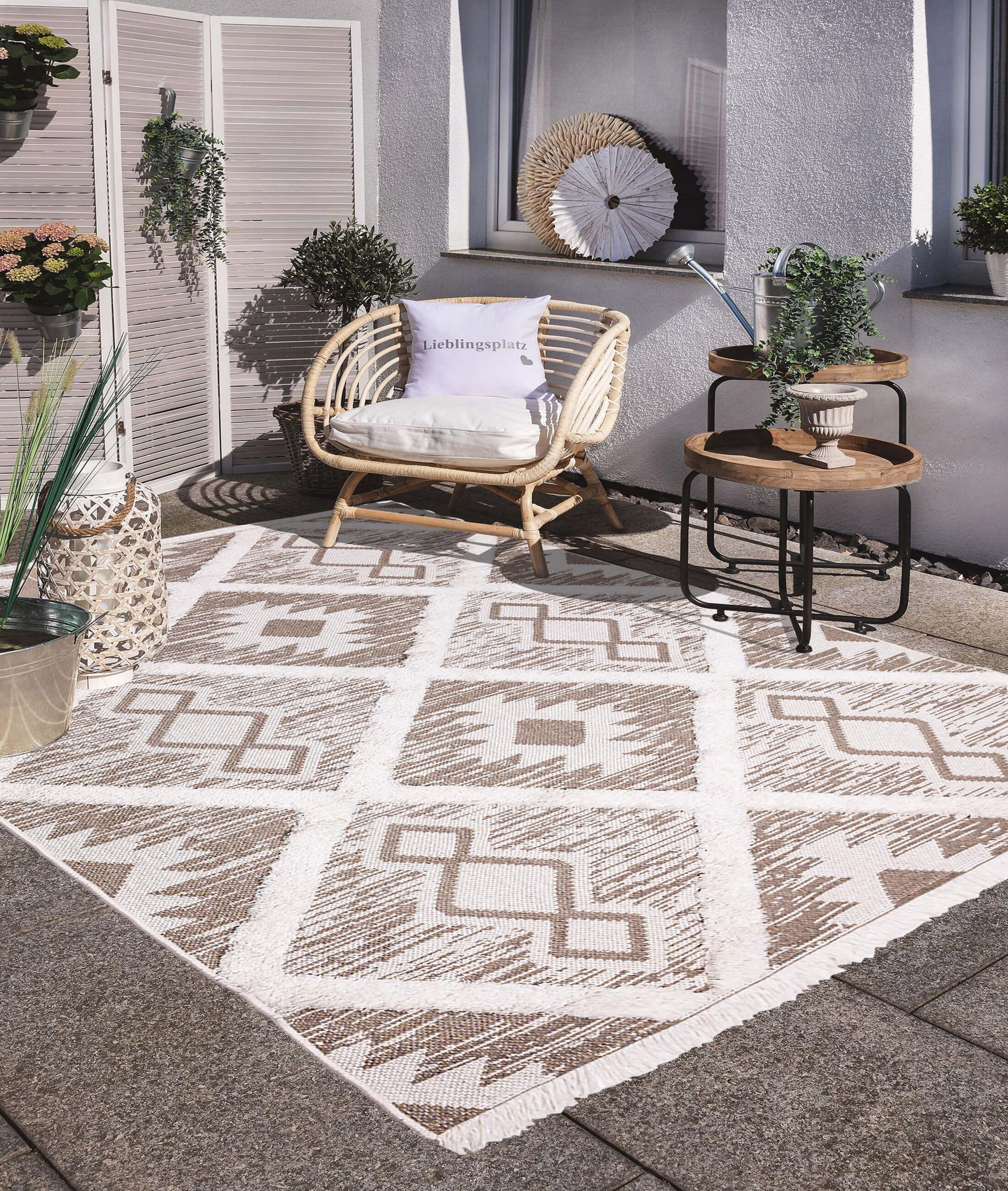 Moroccotton Cream Carpet 22265A
