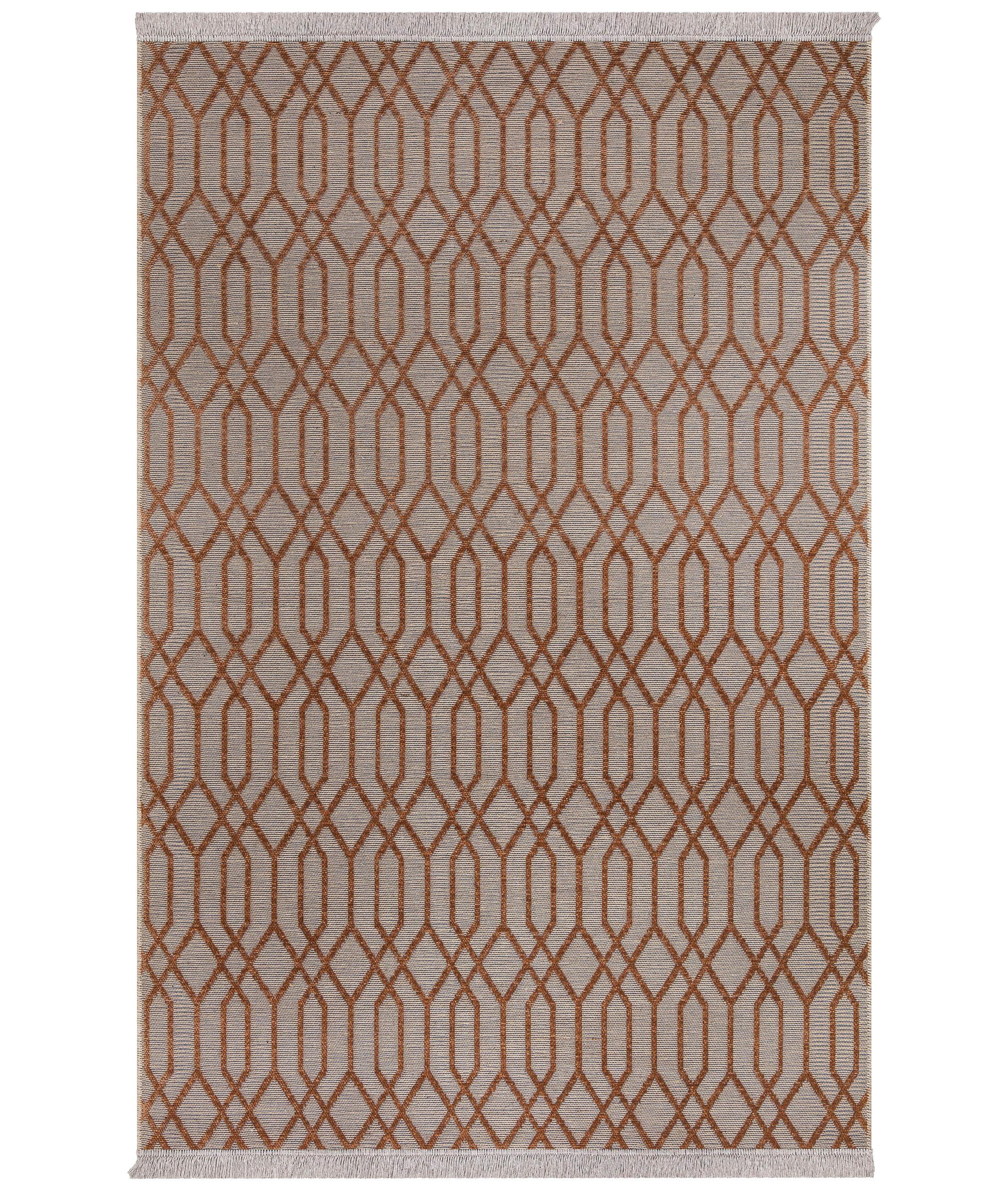 Rosso Orange Carpet 23037A