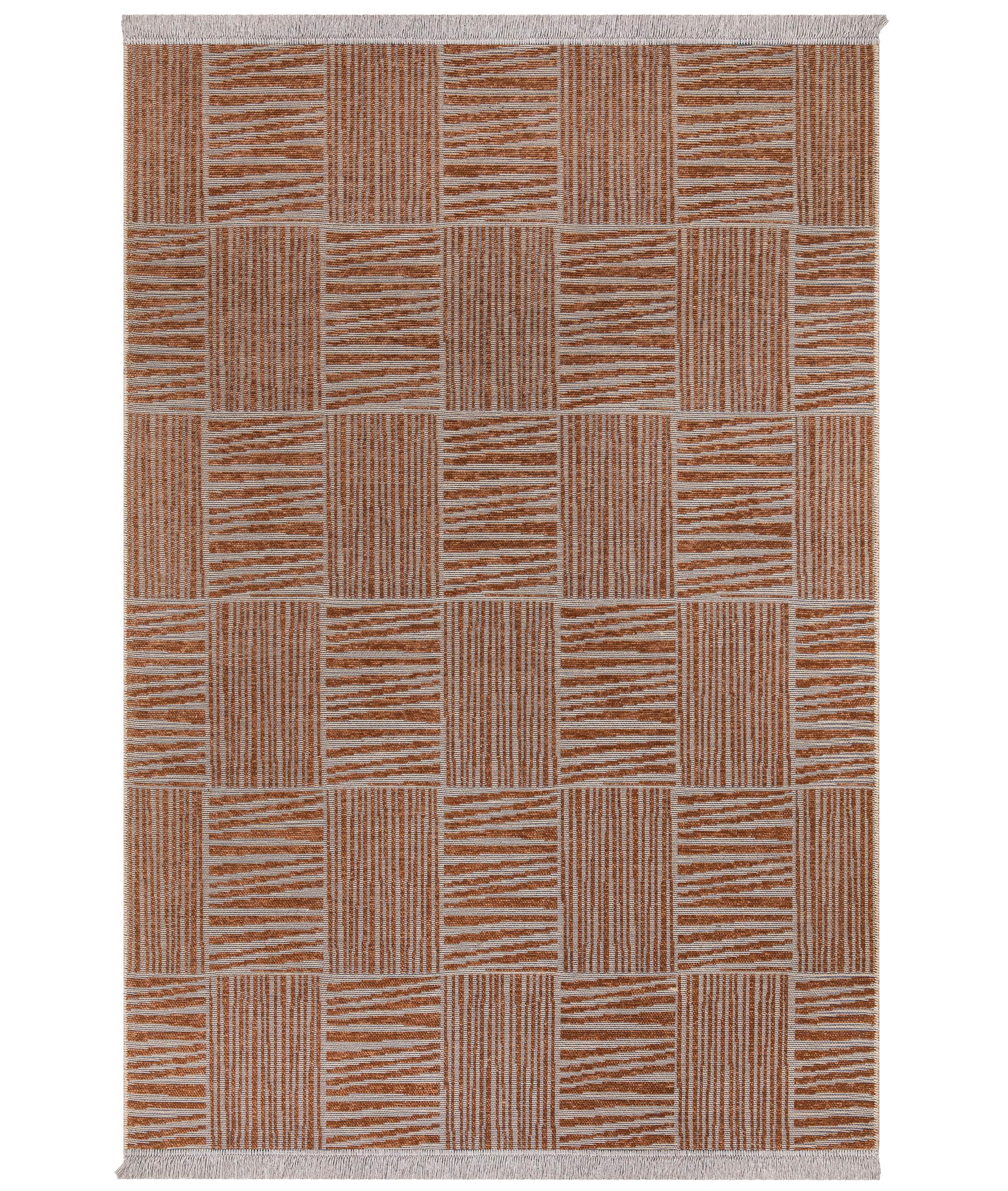 Rosso Orange Carpet 23043A