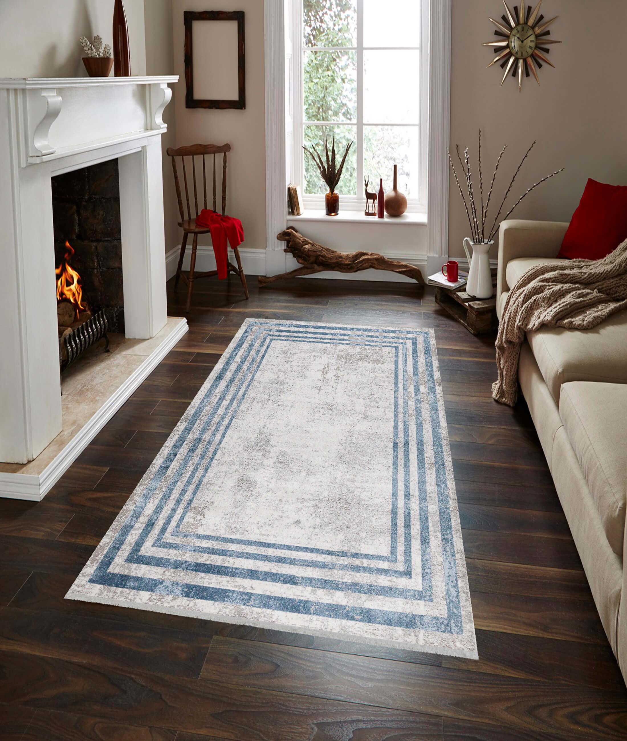 Loft Blue Carpet 30540A