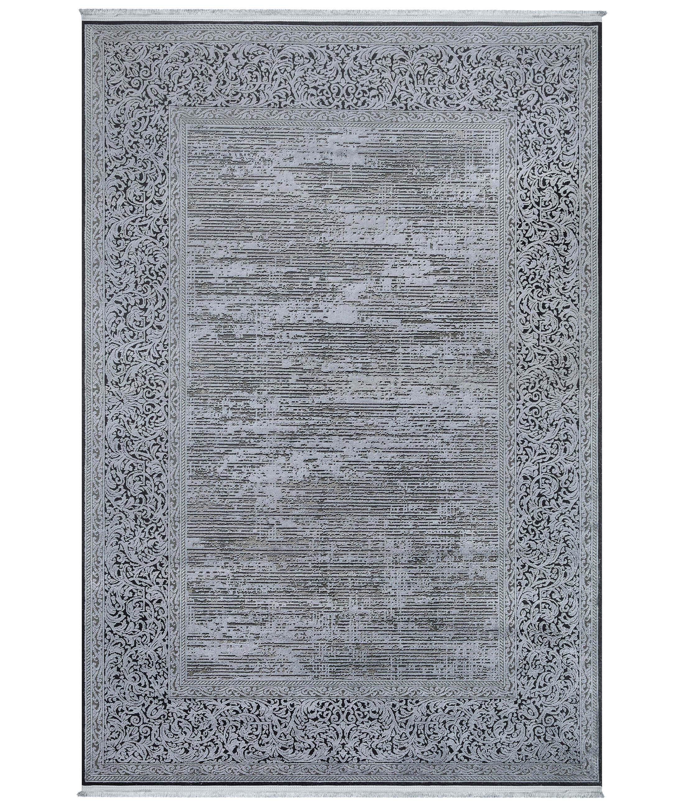 Ebru Gray Carpet 30702
