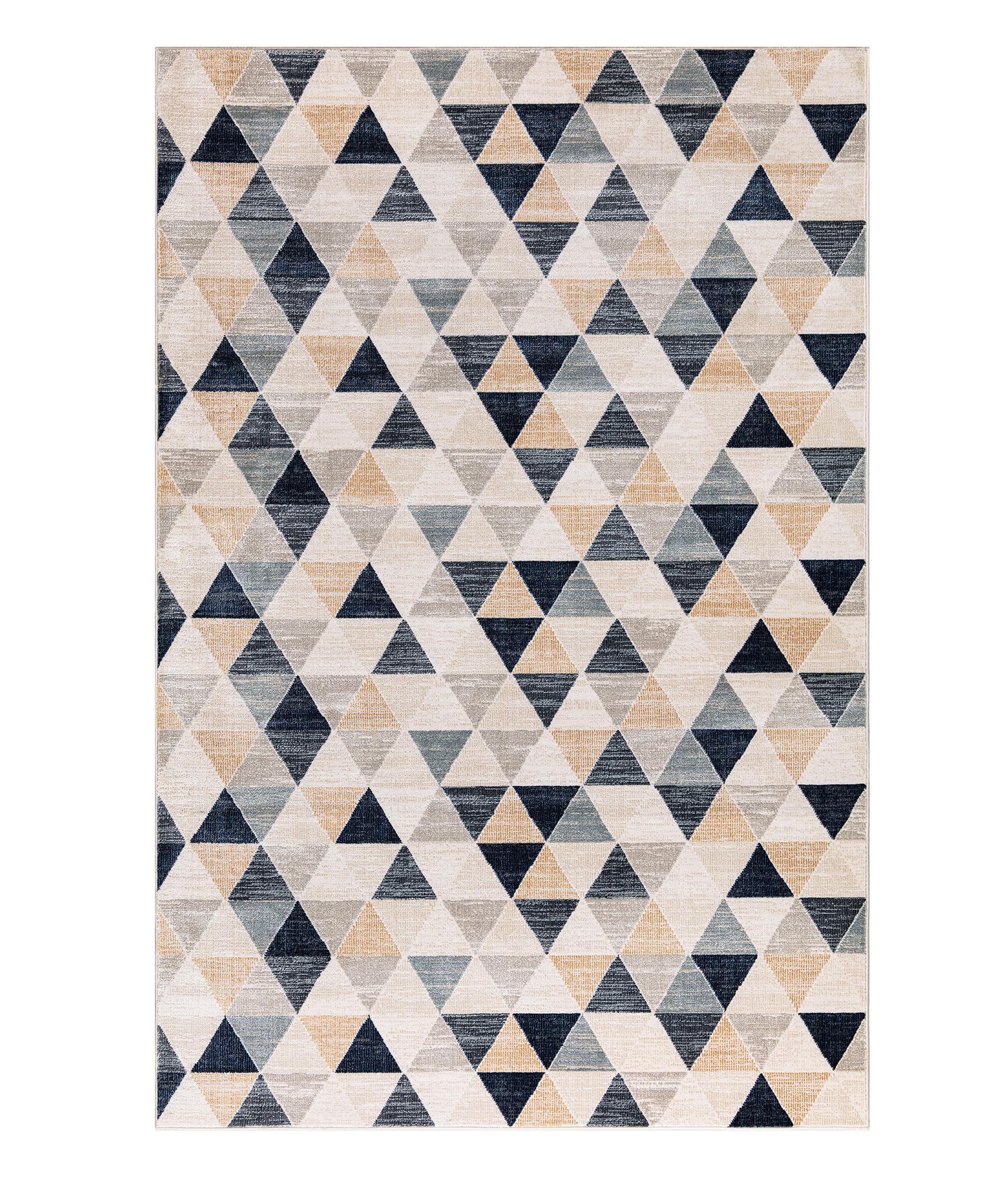 Bohemian Navy Carpet 38560A