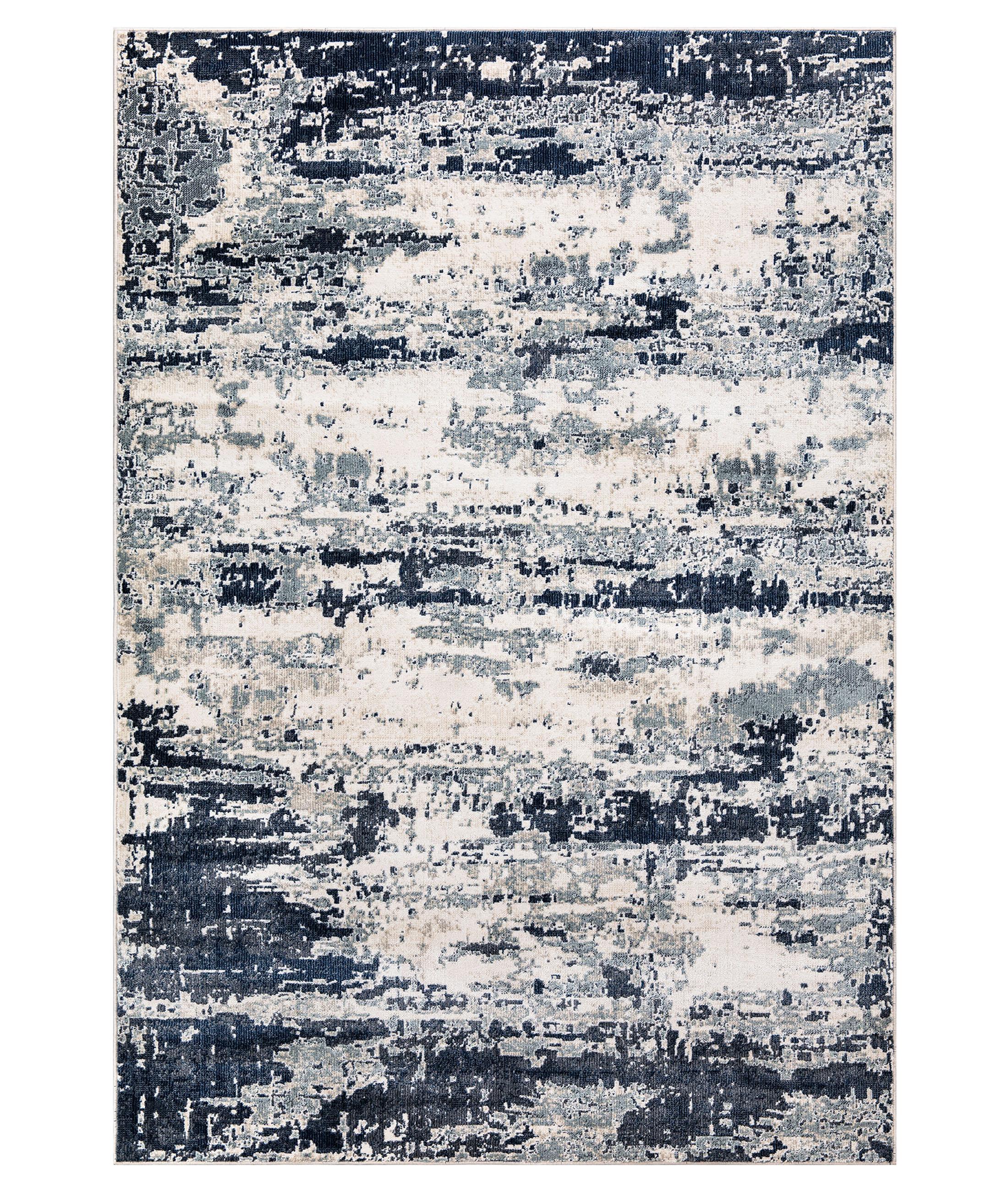 Bohemian Navy Carpet 38561A