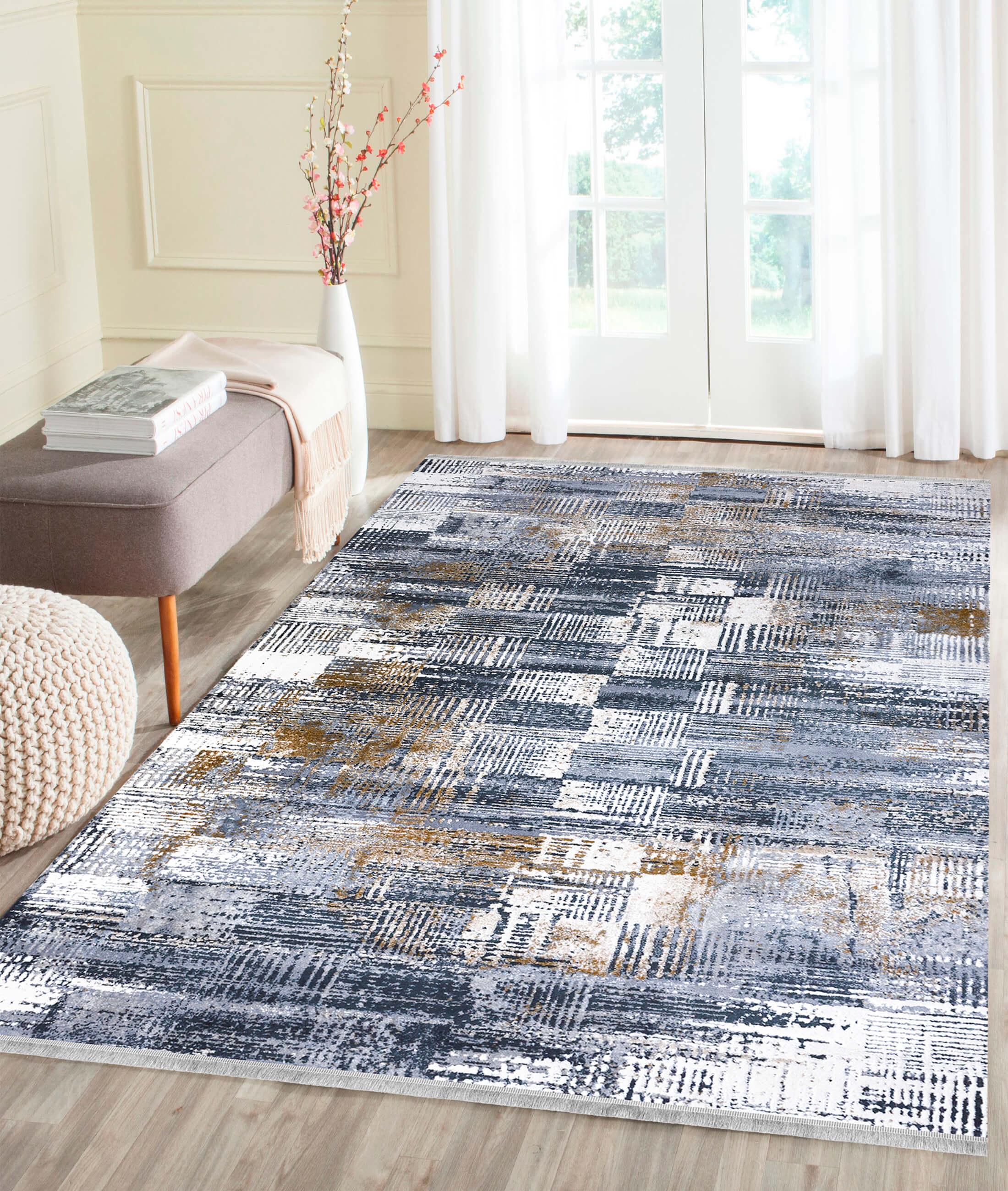 Pera Blue Carpet 45540A