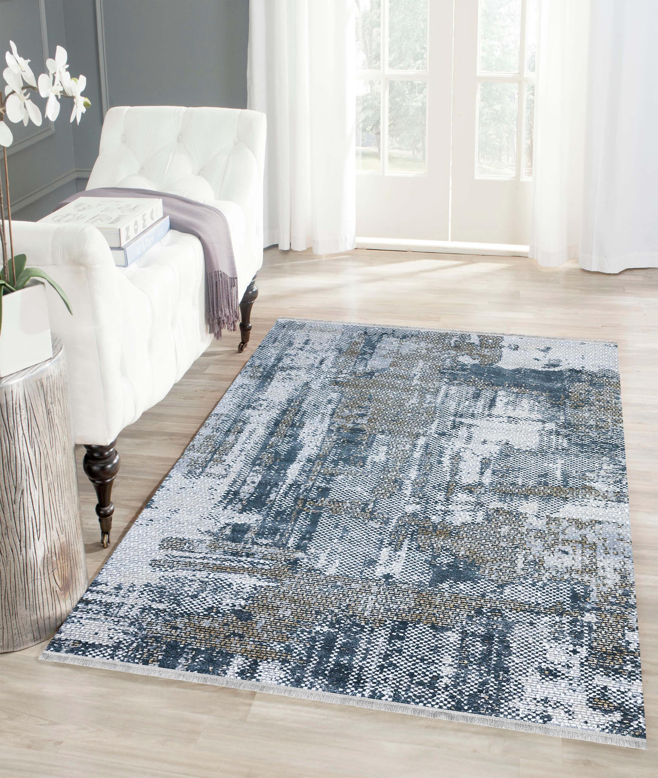 Pera Blue Carpet 45588A