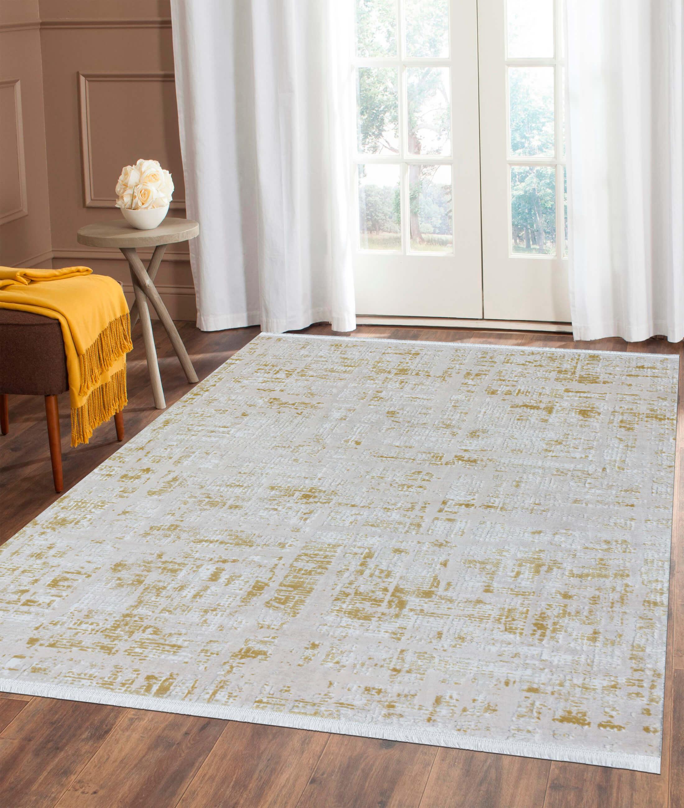 Çırağan Yellow Carpet 45704A