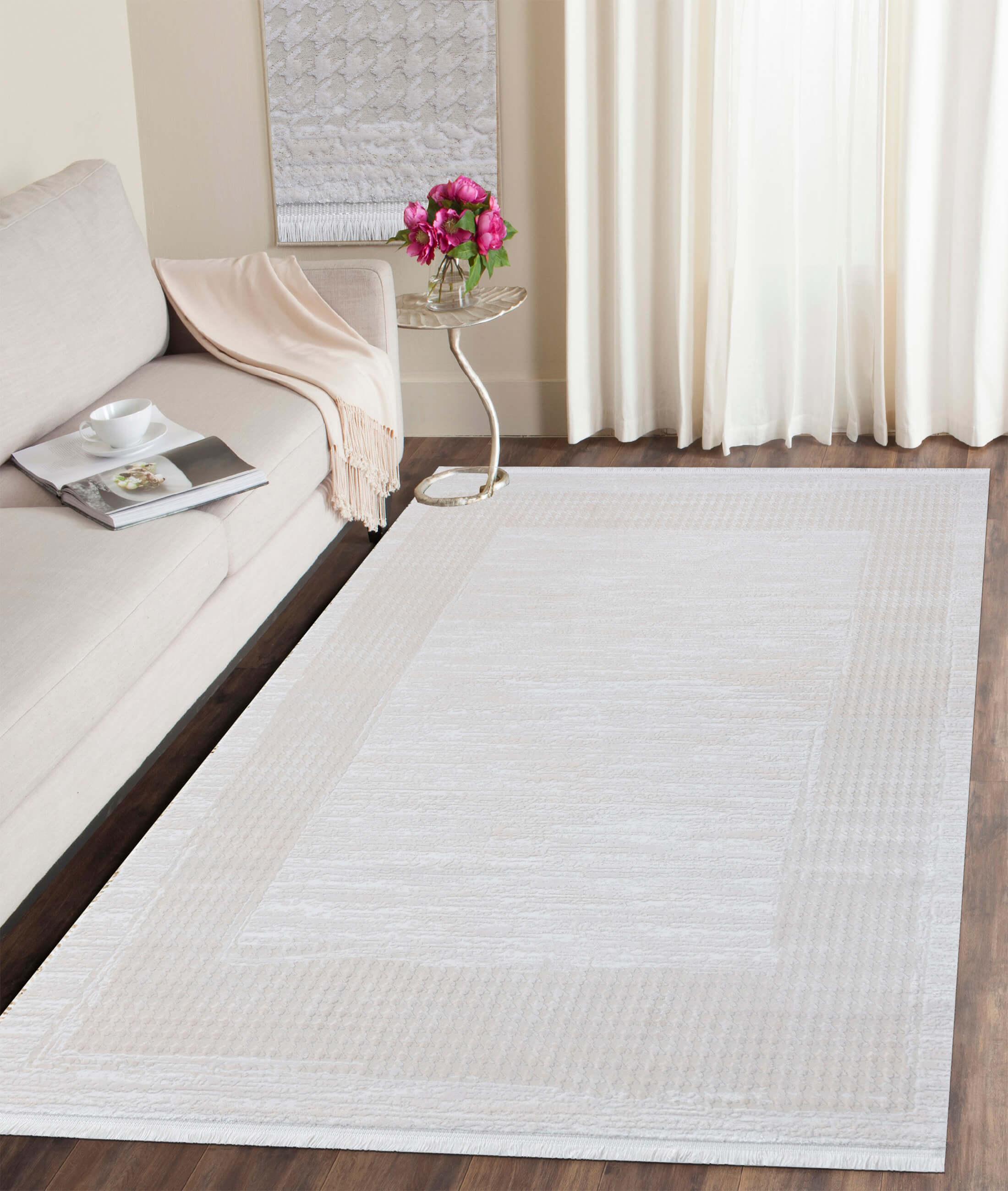 Çırağan Beige Carpet 45715A