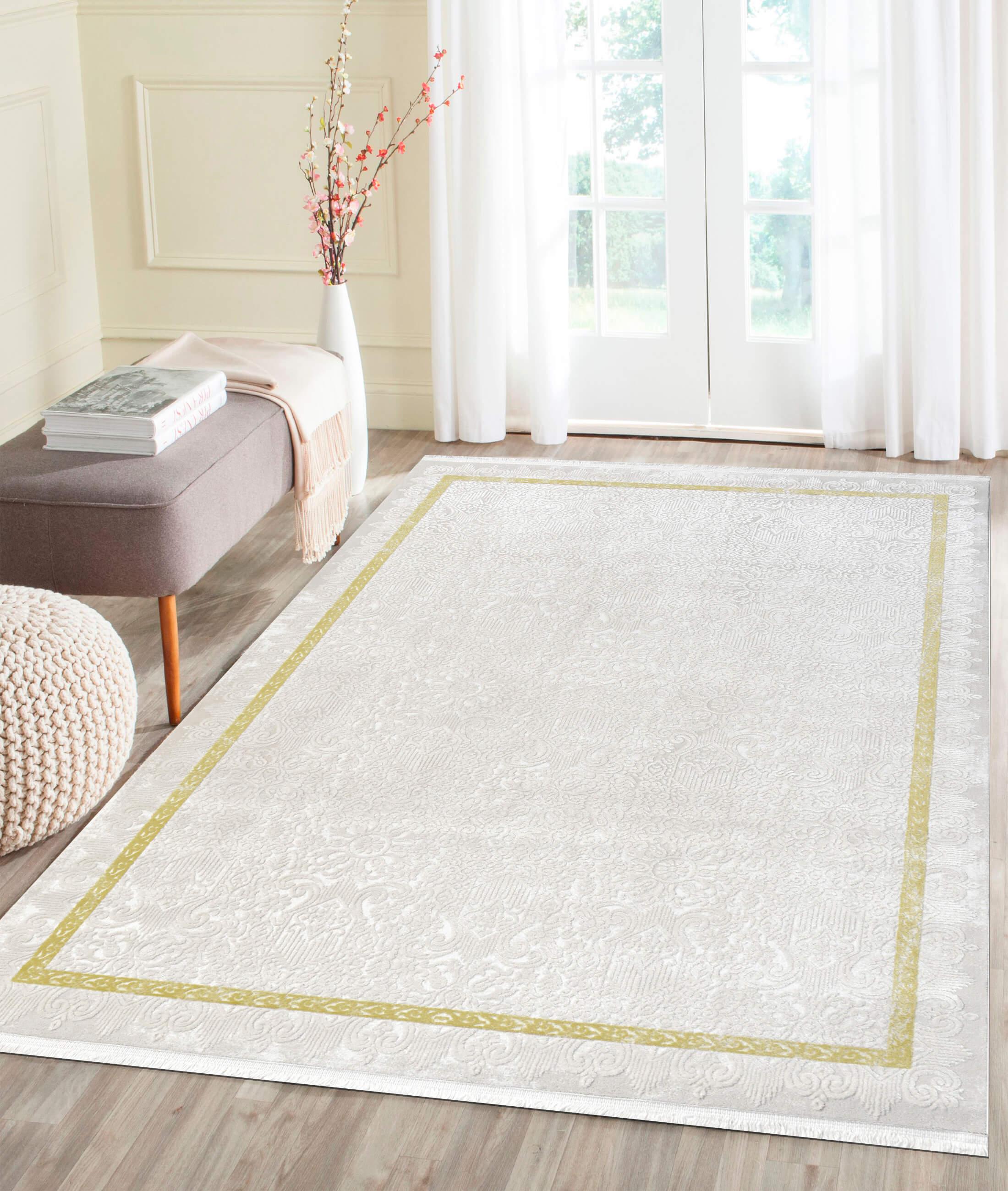 Çırağan Yellow Carpet 45749A