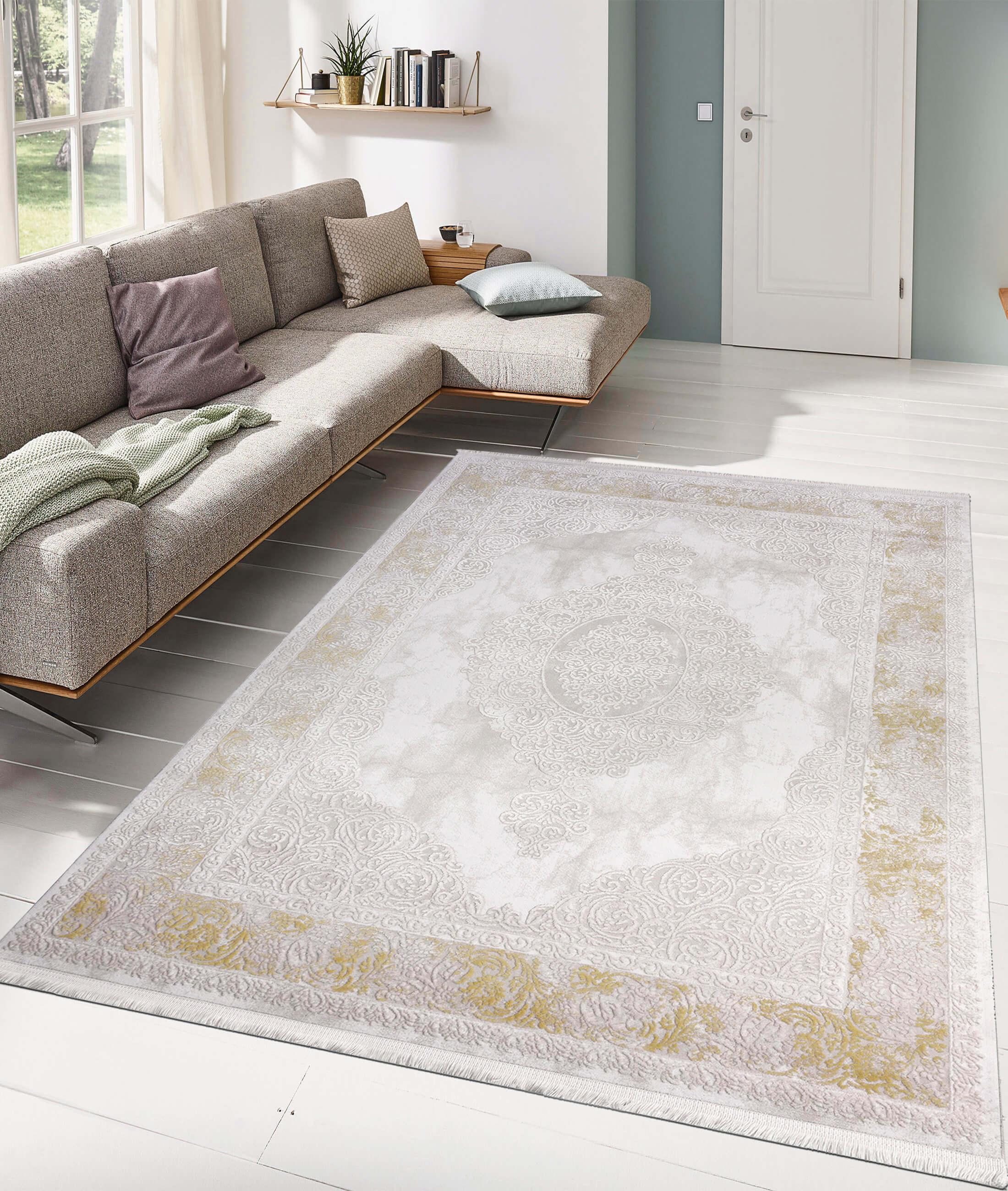 Çırağan Yellow Carpet 45750A