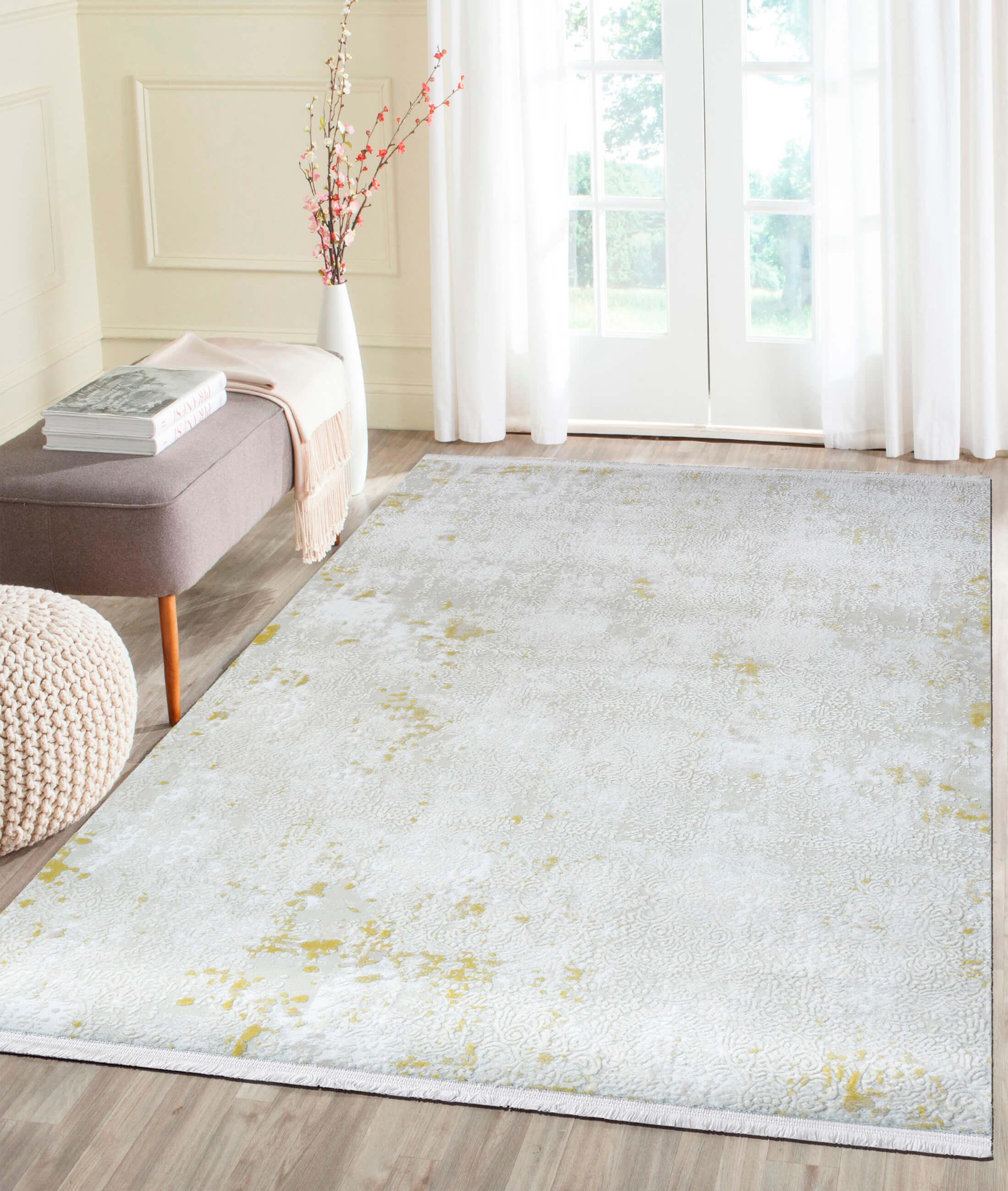 Çırağan Yellow Carpet 45756A