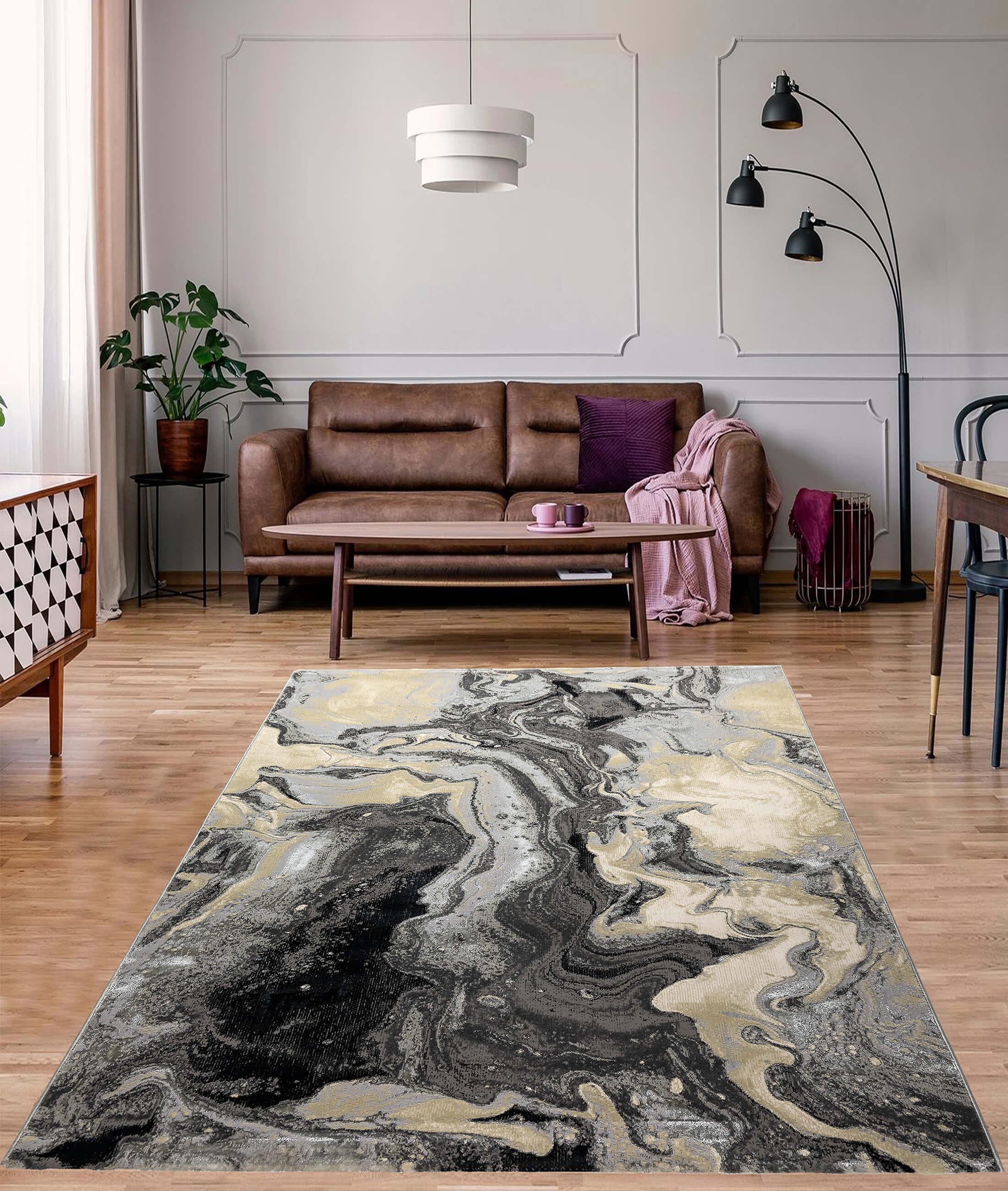 Galeria Gray Carpet 58403A
