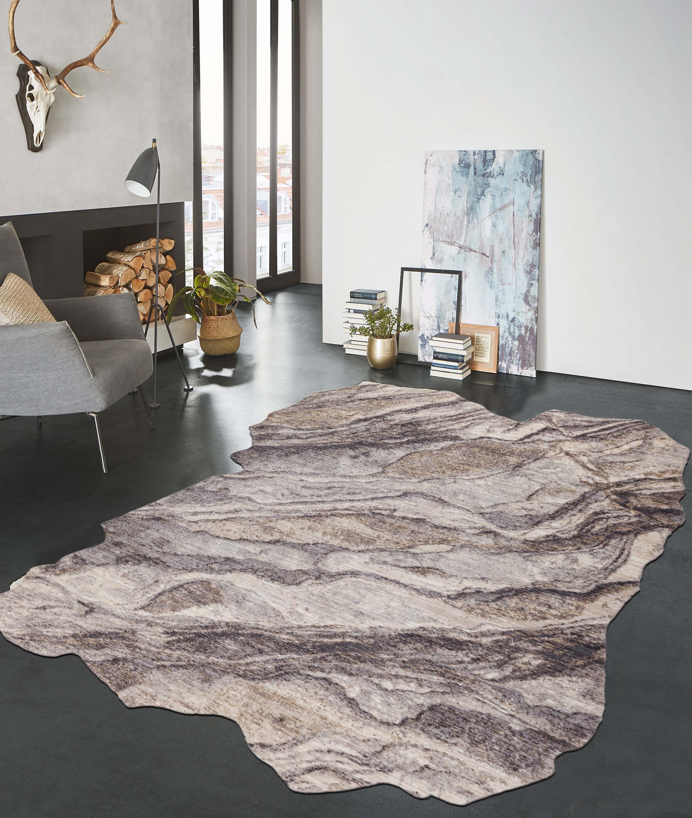 Routine Gray Carpet 75313B