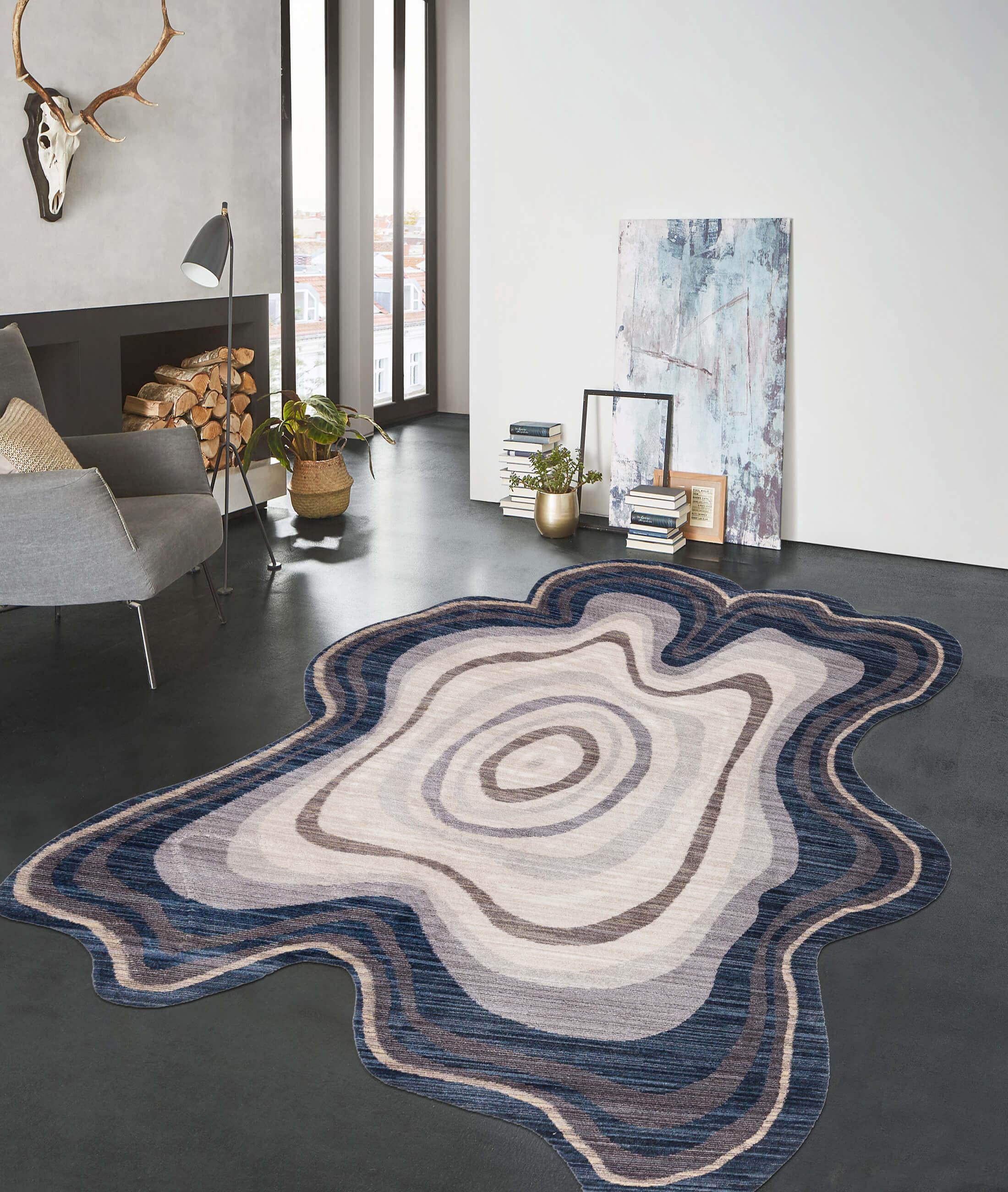 Routine Gray Carpet 75318A