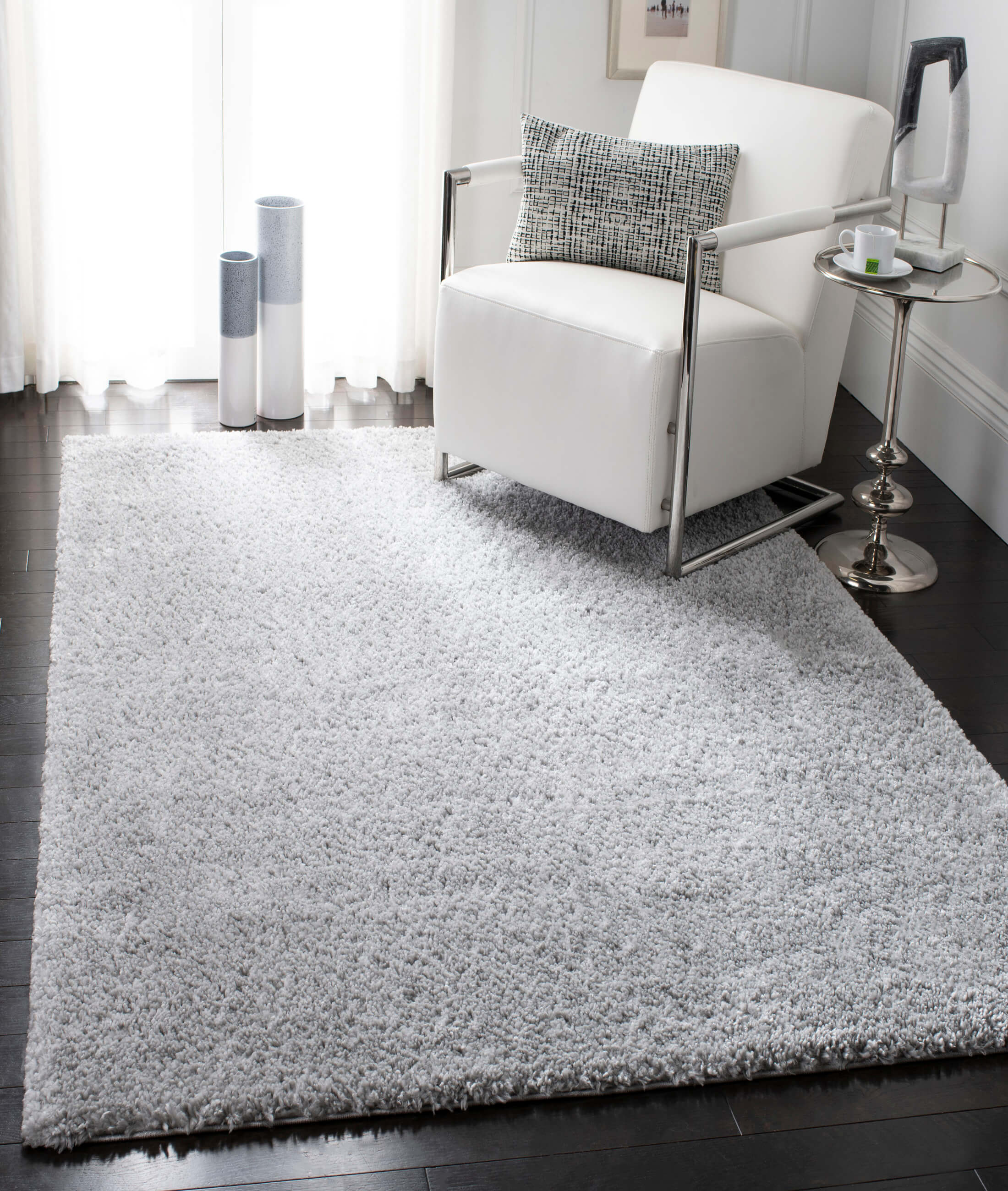 Pufyy Gray Carpet 76713A