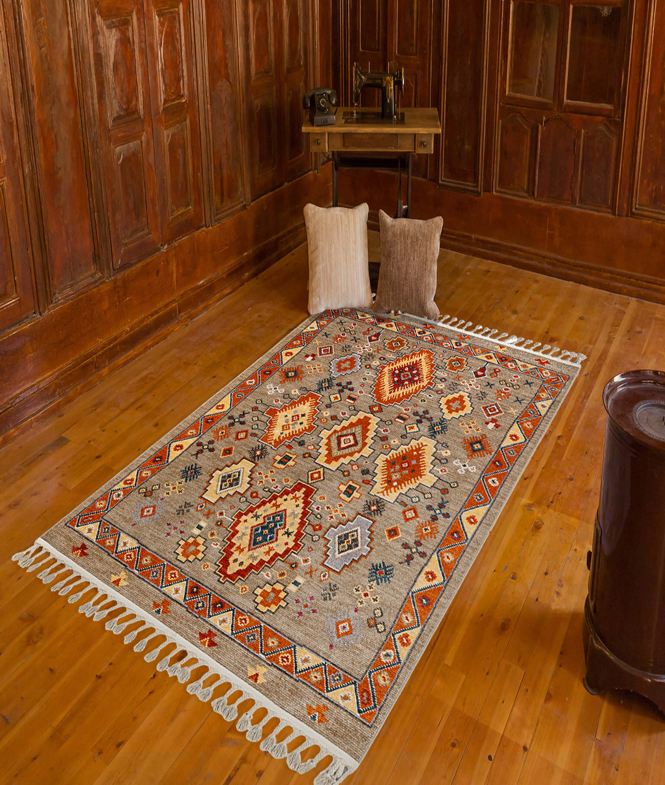 Back To Home Beige Carpet 80048A