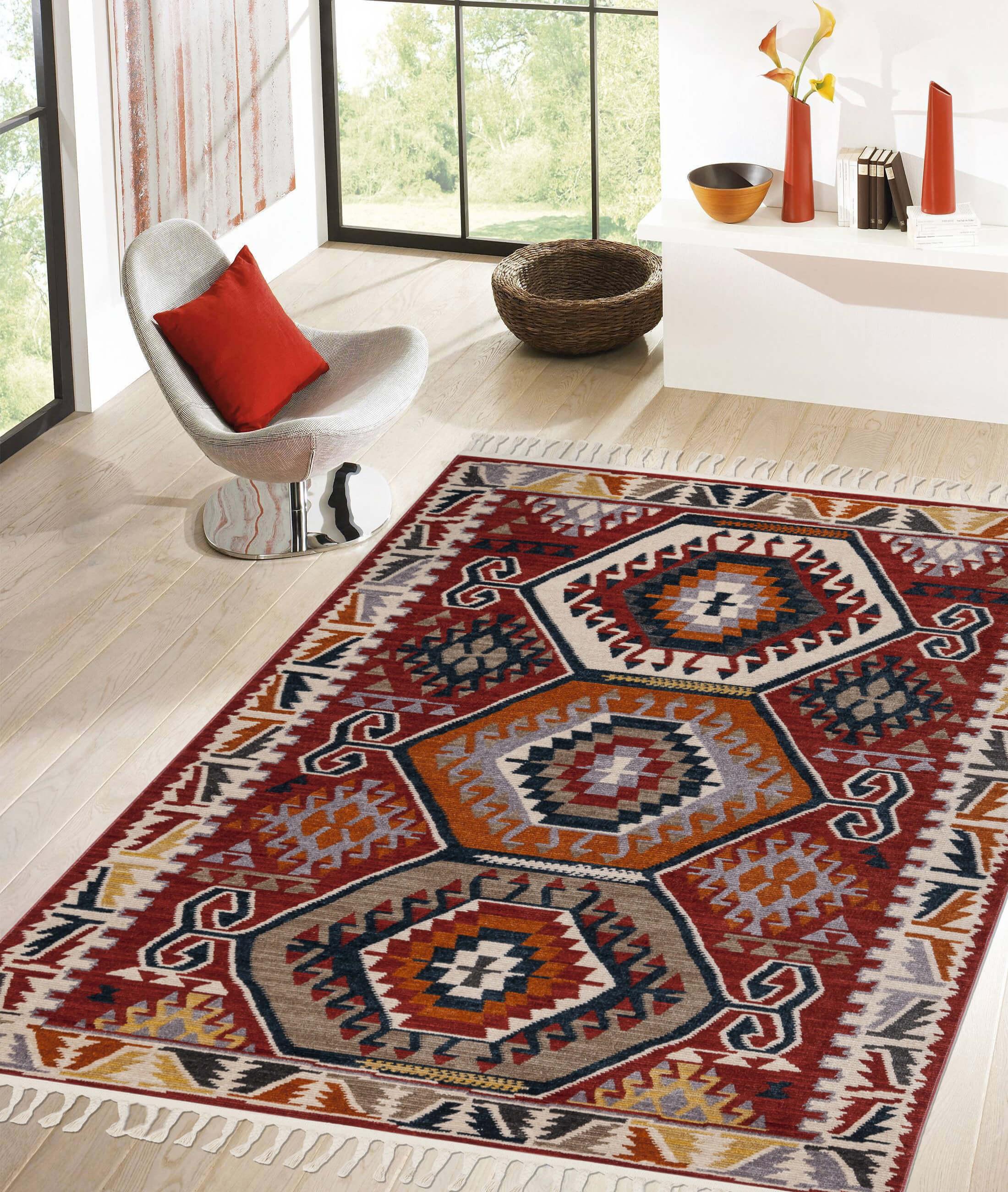 Back To Home Burgundy Carpet 80100A