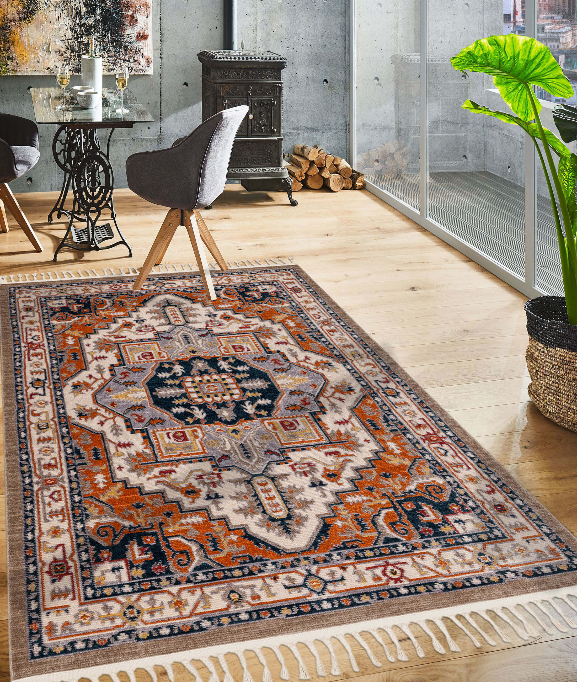 Back To Home Beige Carpet 80114A