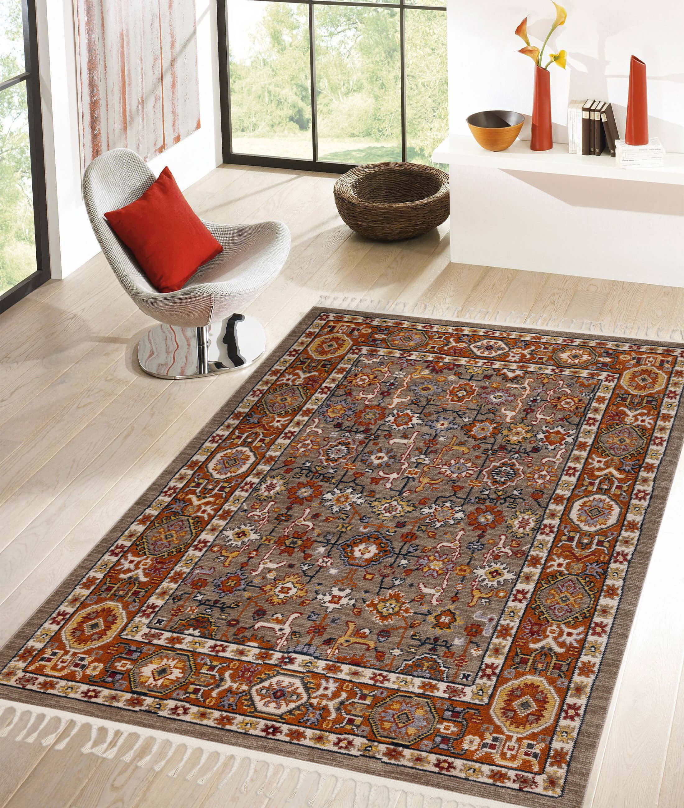 Back To Home Beige Carpet 80117A