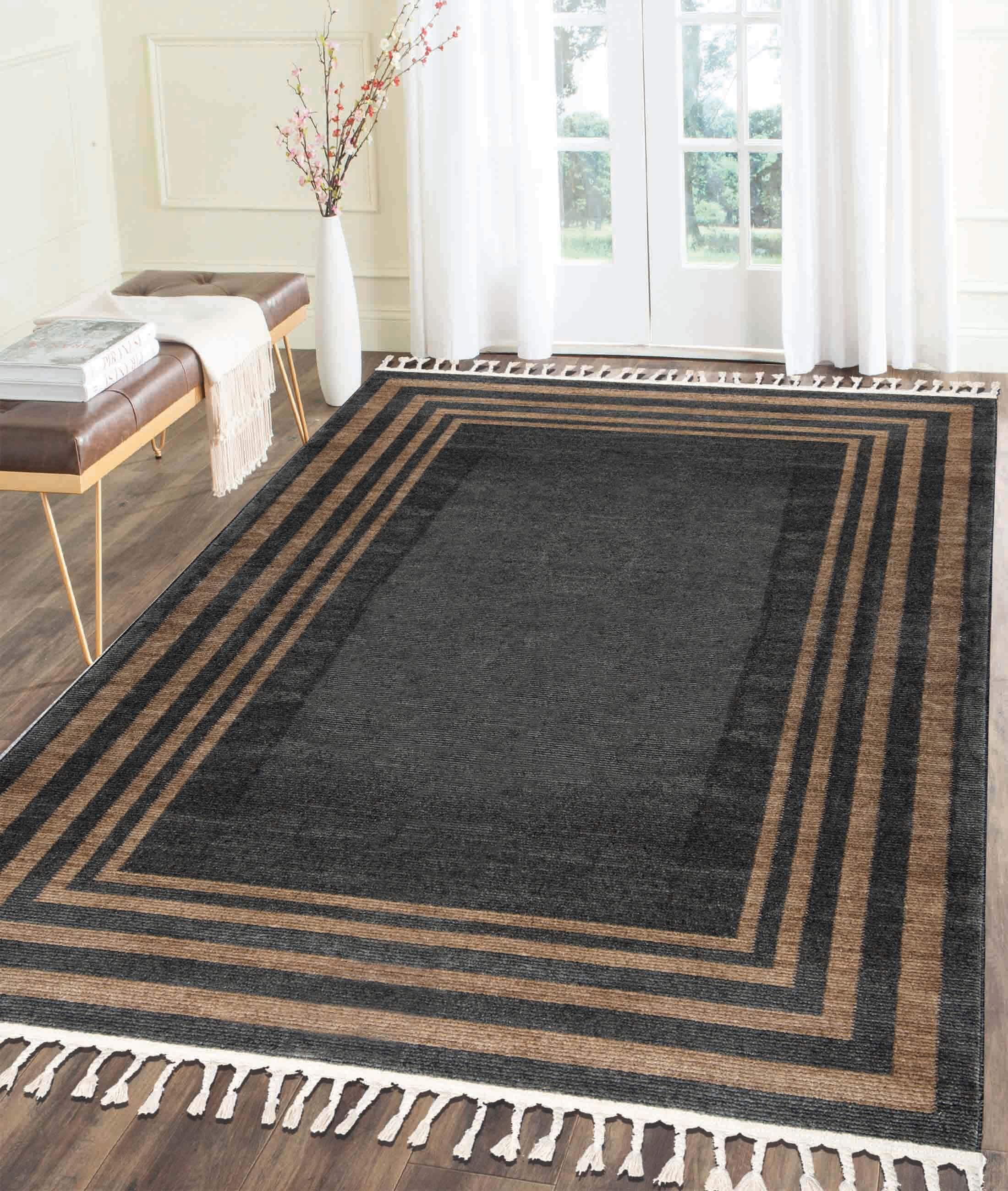 Back To Home Anthracite Carpet 80247A