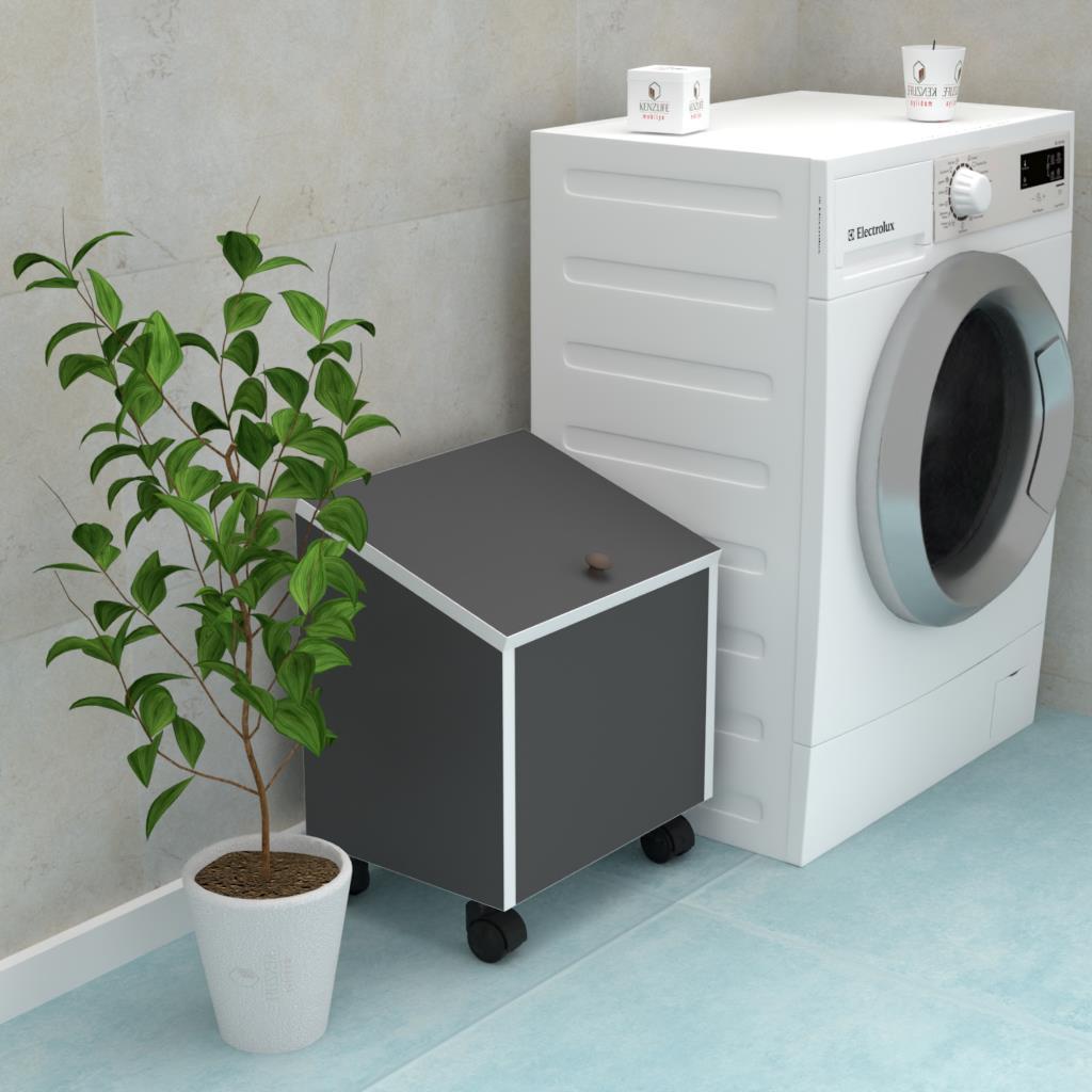 Laundry Basket Cabinet
